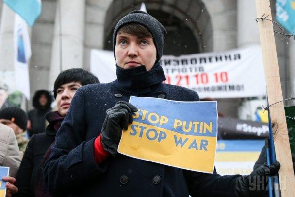 Савченко анонсировала акцию протеста наМайдане