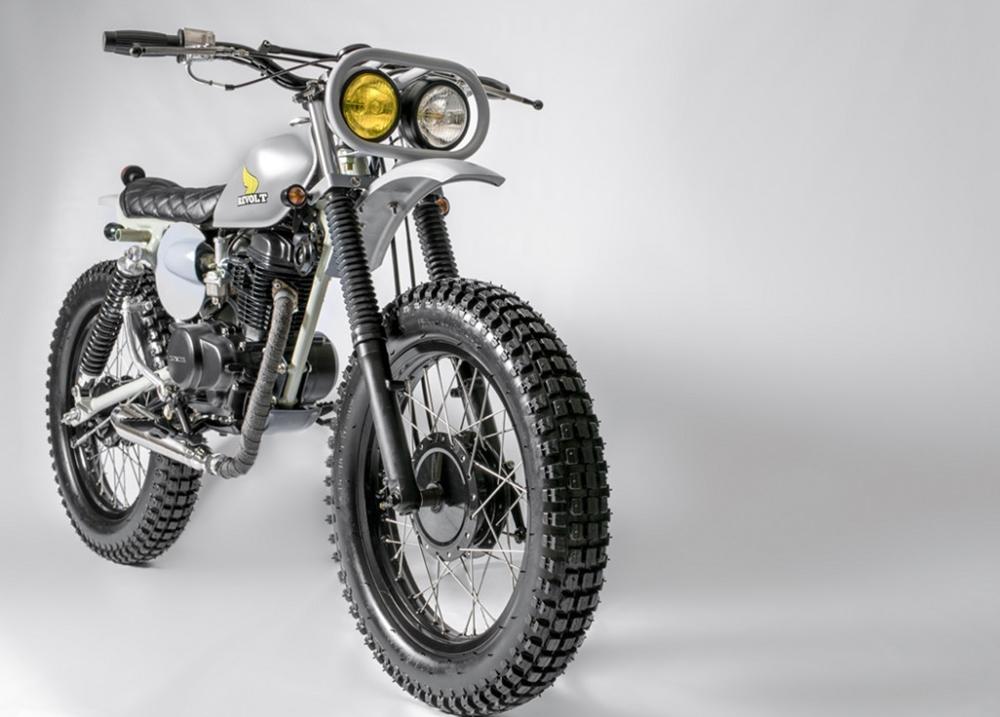 Revolt Cycles: скрэмблер Honda XL100 Lantuag
