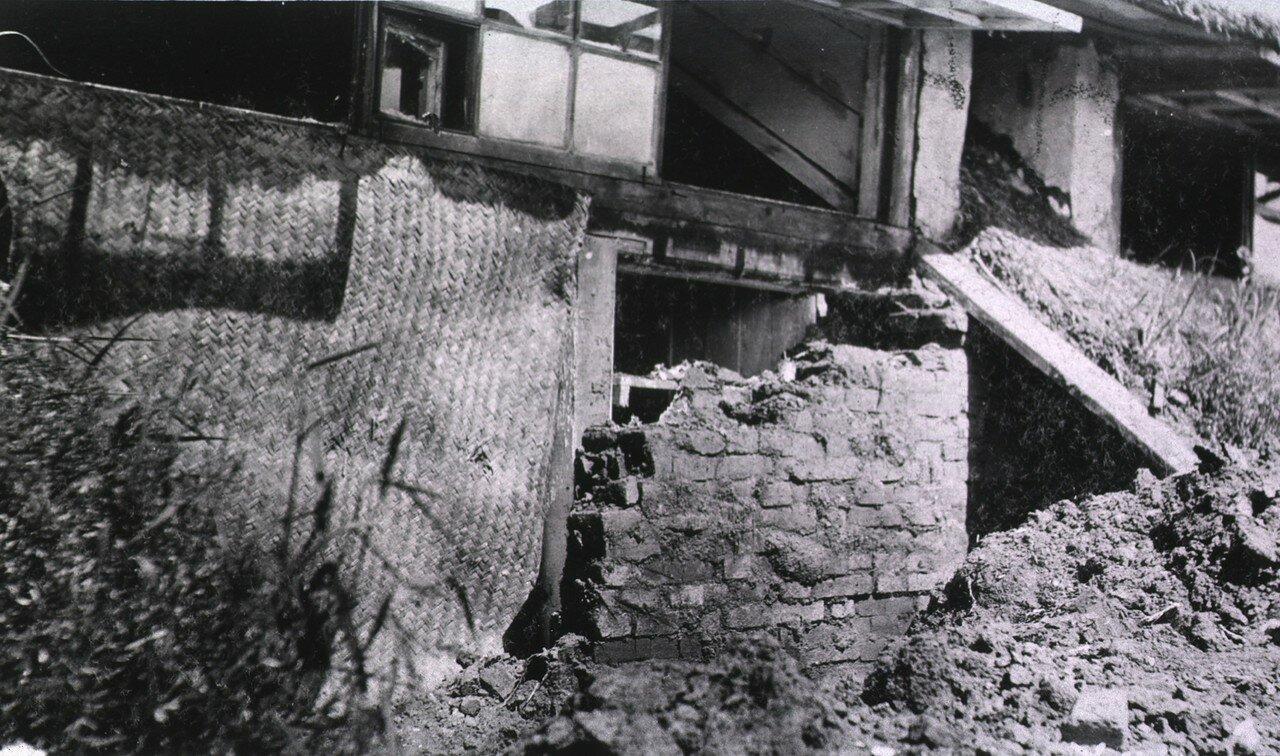 Полевой подвижный госпиталь No. 75. Разрушения
