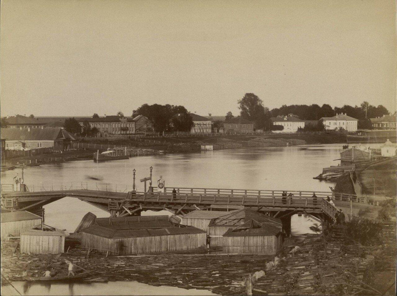 Вологда. Мост на Никольской набережной