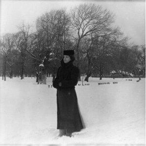 Прогулка в Петровский парк и Соломенную сторожку. «Густя-вдова на лугу»