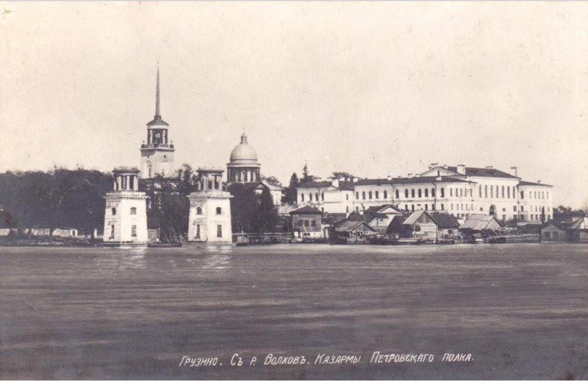Казармы Петровского полка