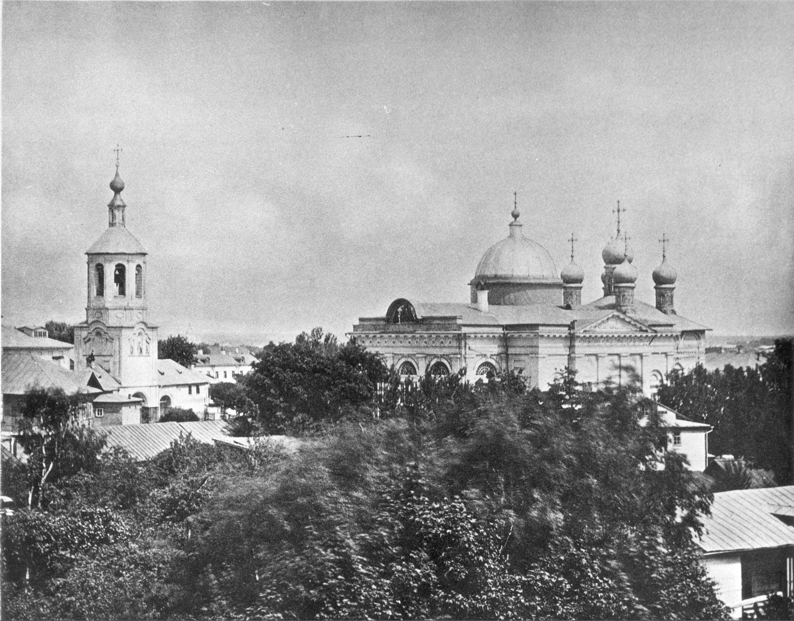 1875. Воронцово поле. Храм Илии Пророка