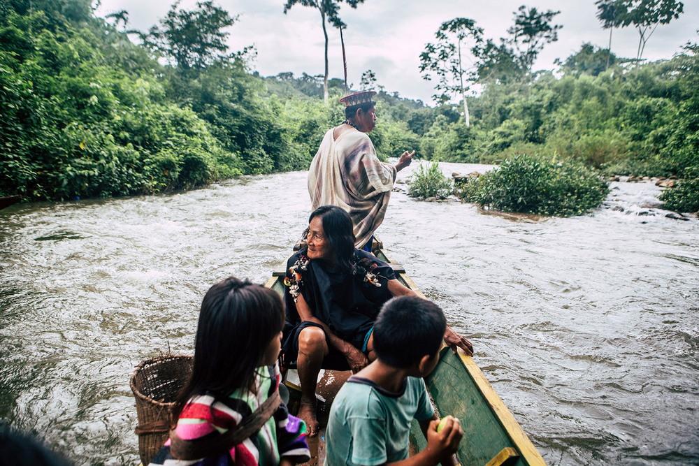 Племен Амазонии на снимках московского фотографа