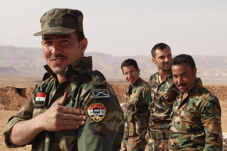 Армия Сирии и союзники отбили у исламистов нефтяное месторождение