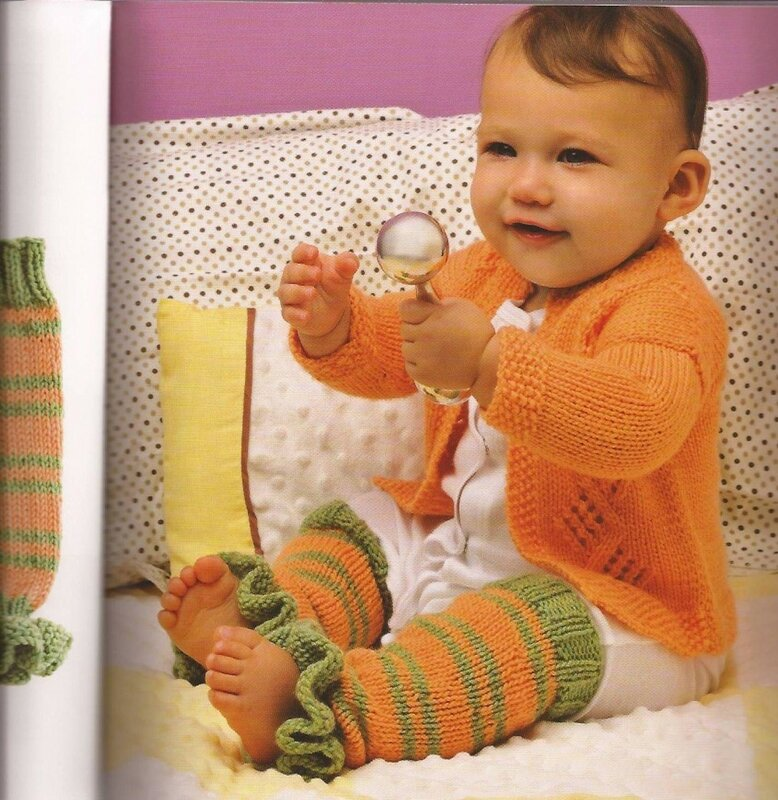Вязание для детей спицами-фото