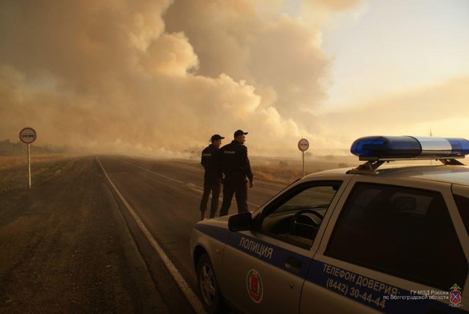 Ландшафтный пожар заВолгой локализован