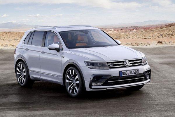 Кроссовер Volkswagen Tiguan в России подешевел в среднем на 100 тысяч рублей