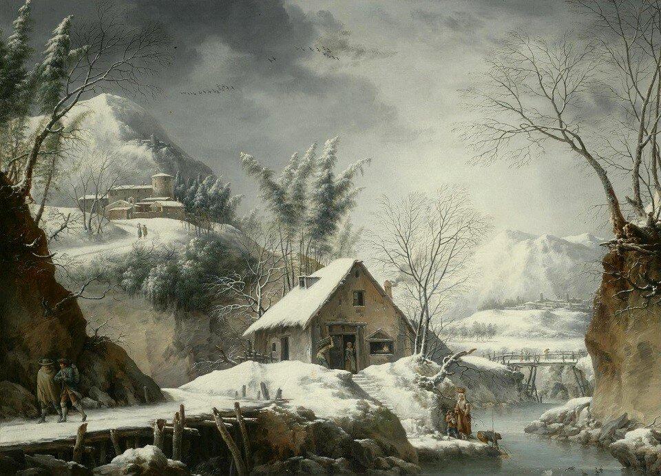 2_Горный зимний пейзаж с фигурами (A Mountainous Winter Landscape With Figures)_71.4 х 99_х.,м._Частное собрание_обработано.jpg