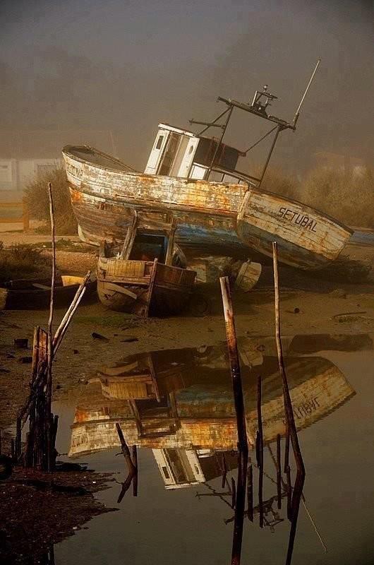0 182c1e de5cbe1c orig - На мели: фото брошенных кораблей
