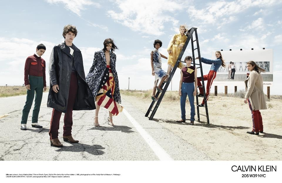 Первая коллекция Рафа Симонса для Calvin Klein (11 фото)