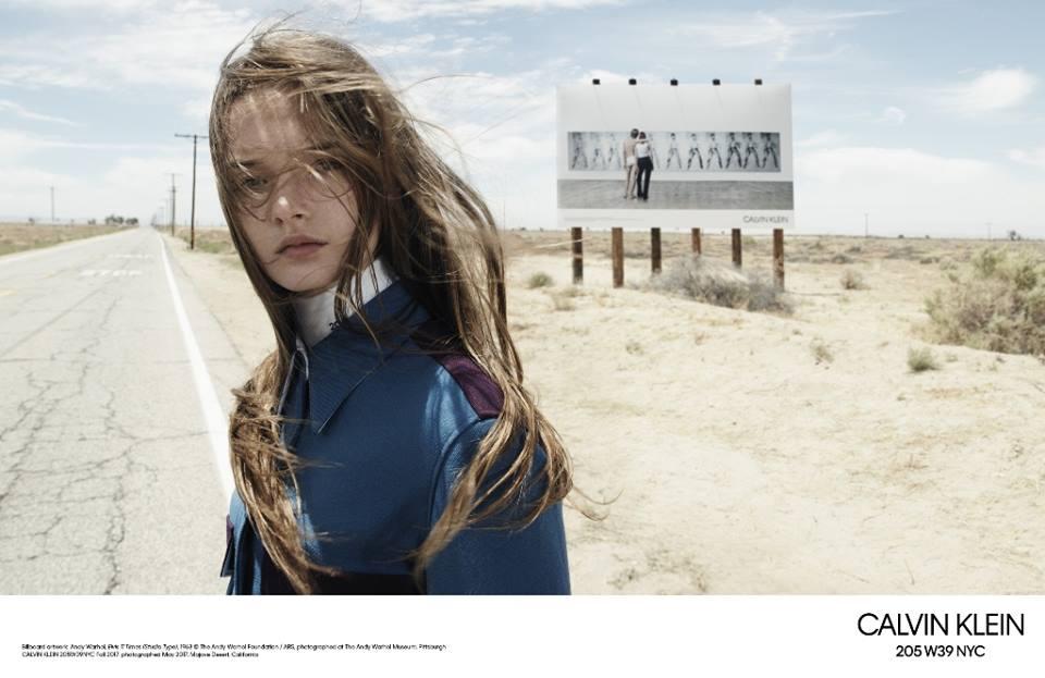 Первая коллекция Рафа Симонса для Calvin Klein