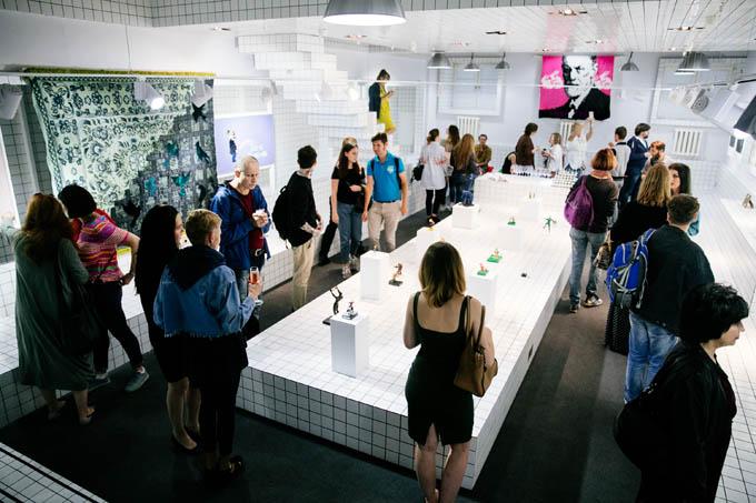 Открытие галереи Artis на Винзаводе (9 фото)
