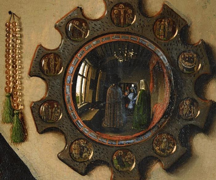 Святой Элигий в своей мастерской