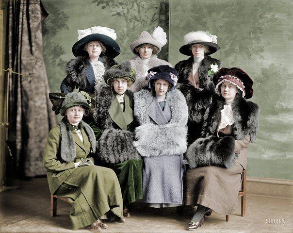 Студентки, 1910-е..jpg