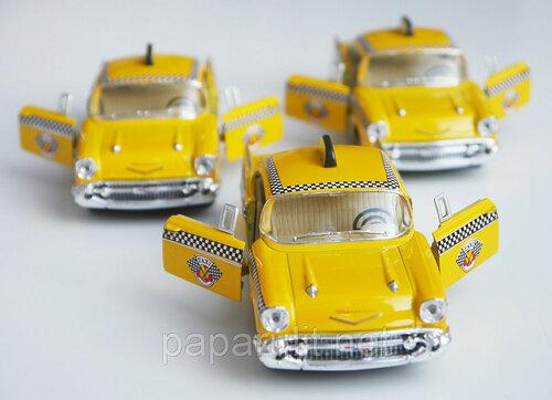 Kinsmart Chevrolet Bel Air Taxi