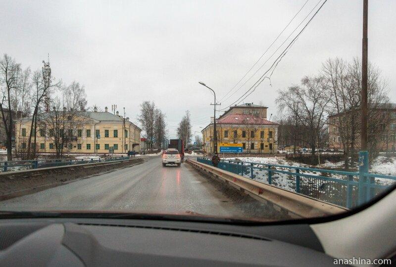 Пересечение Ленинградского тракта и проспекта Ленина, Вытегра