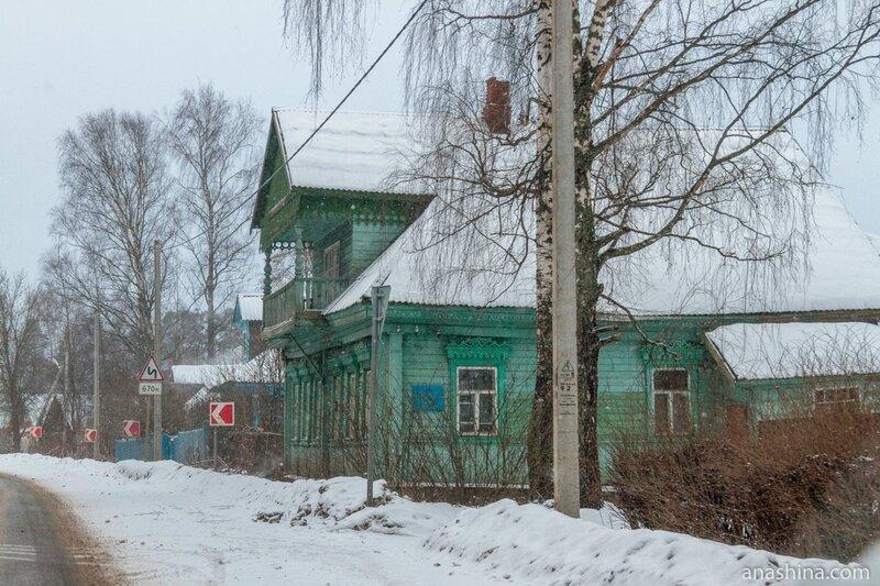 Дом с мезонином, Ярославская область