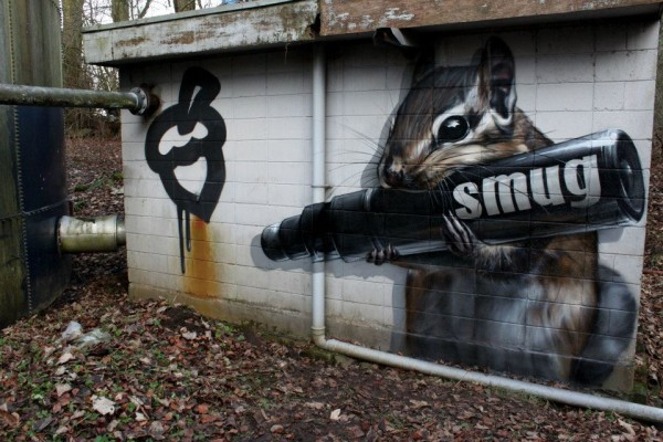 New Works - Street Artist - Smug