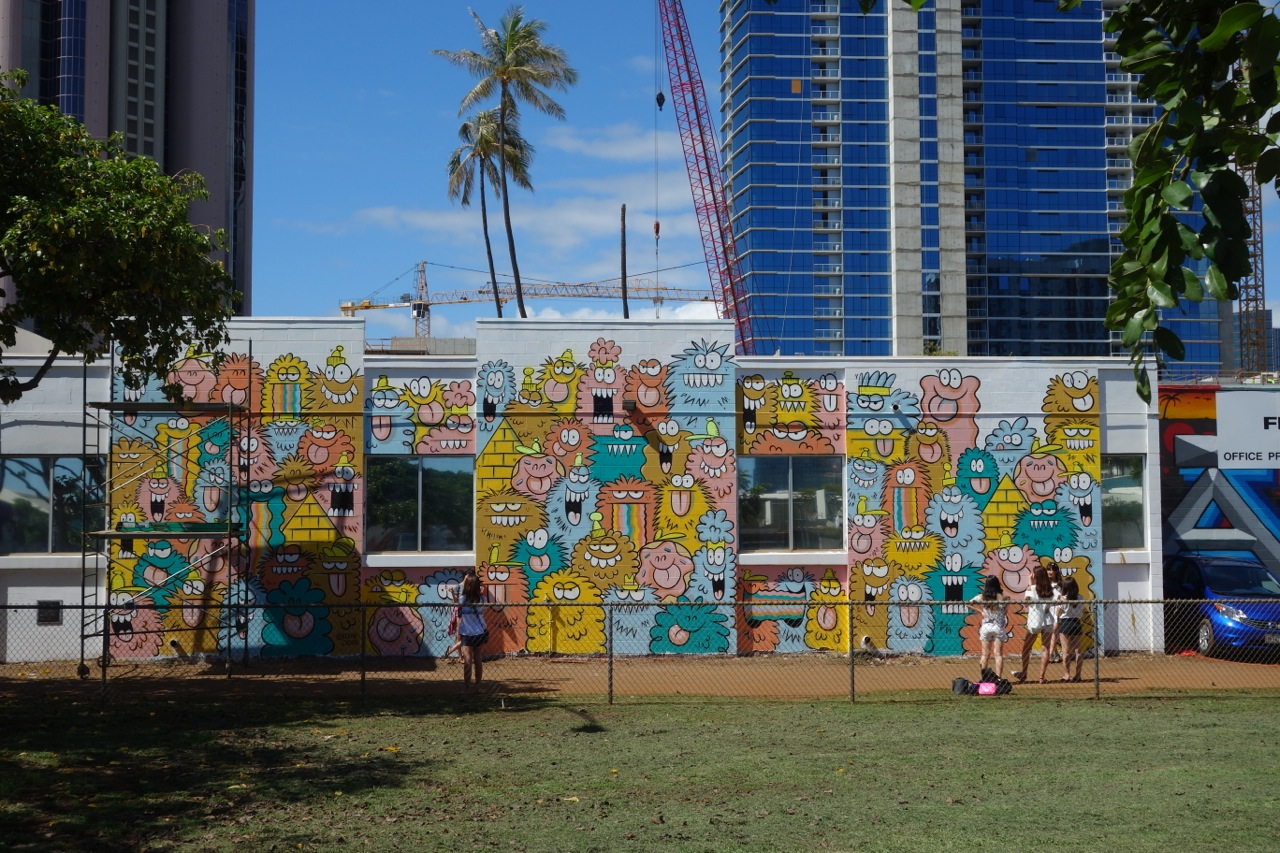 POW! WOW! Hawaii '17: Walking The Streets (Part 2)