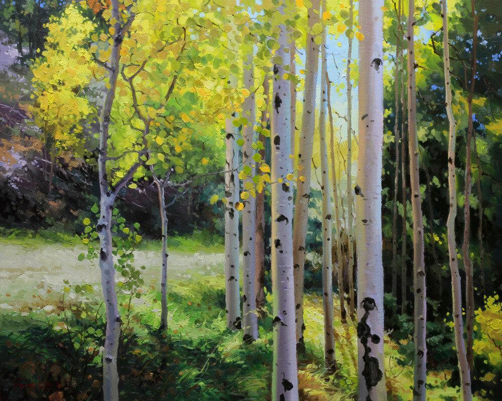 Gary Kim. Autumn Beauty of Sangre de Cristo