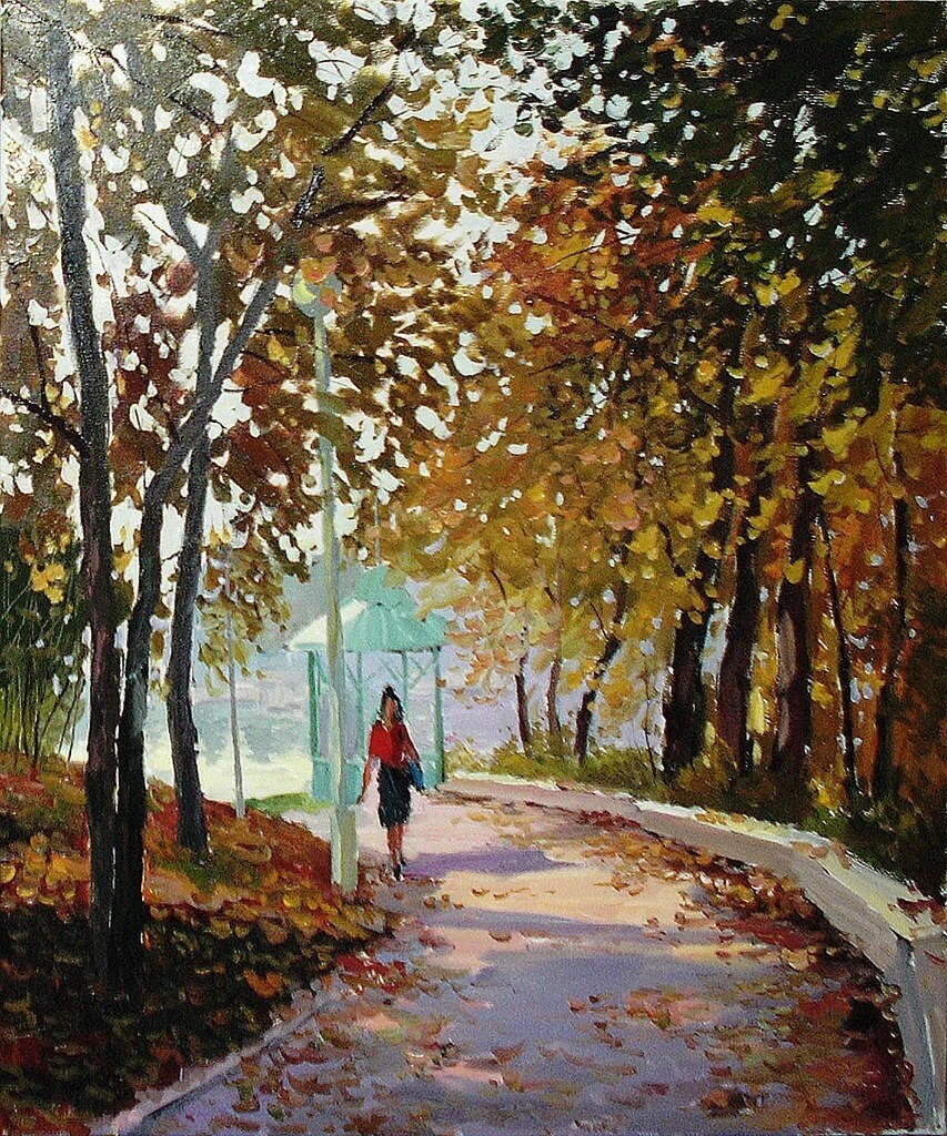 Ралиф Ахметшин. Осень в парке.jpg