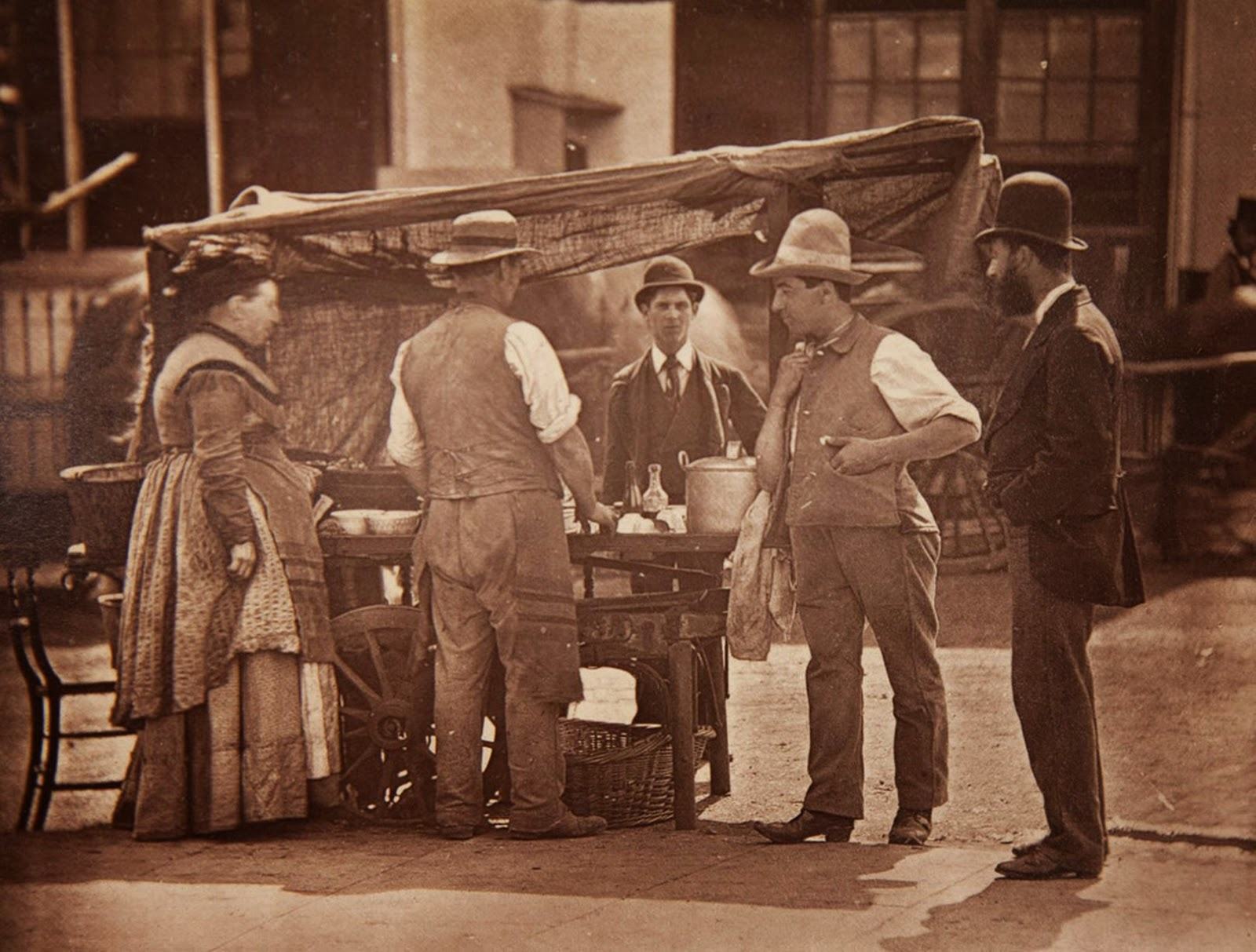 1877. Торговец моллюсками
