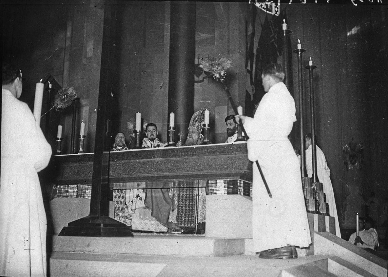 Павильон Ватикана. Месса по обряду сирийской церкви