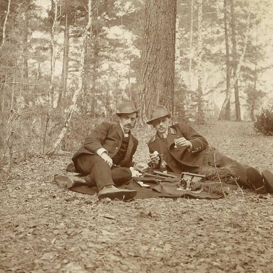 Отдых под Кунгуром. 1910