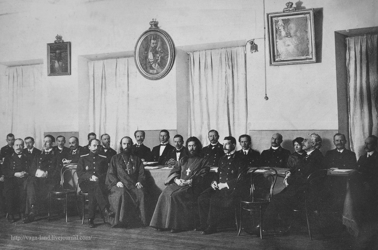 Члены педсовета Архангельской гимназии