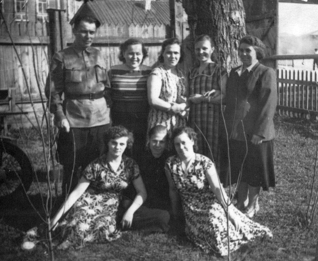 1950-е. Двор почты