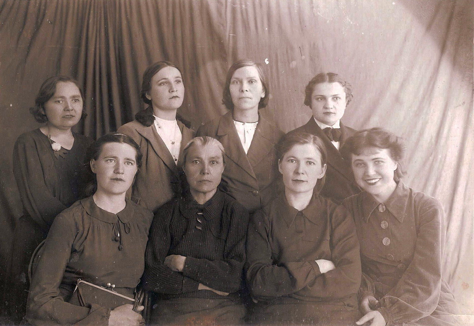 1950-е. Коллектив учителей школы №3