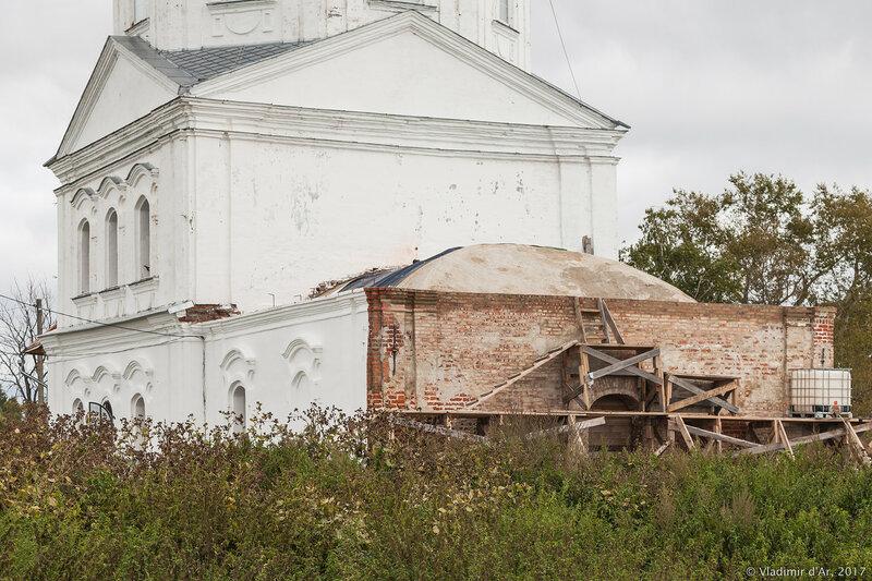 Храм Святителя Василия Великого в Кистыше.