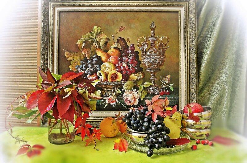 Про осень .... с фруктами:)