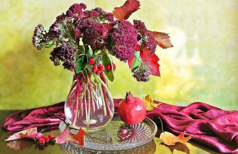 Осени пурпурные оттенки...