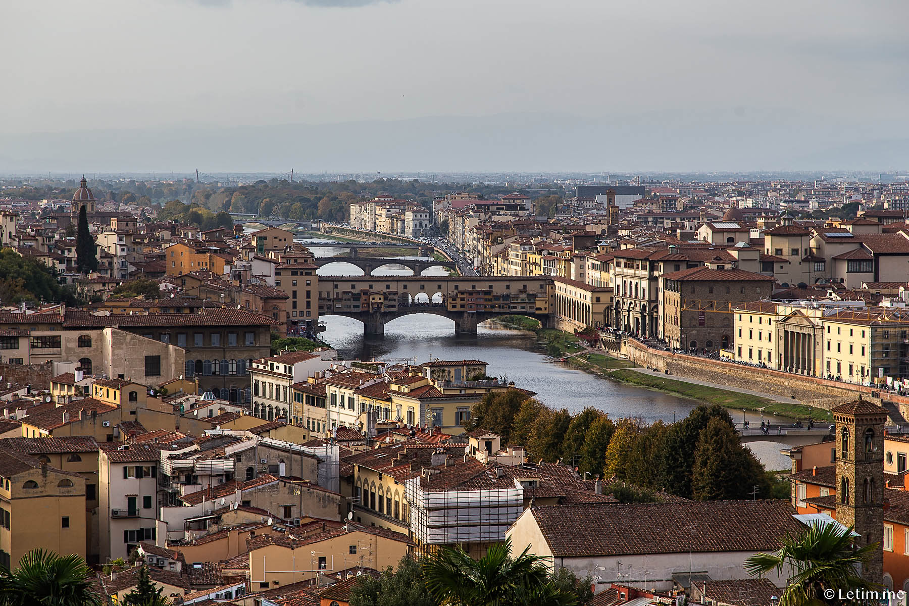 Мост Понте-Викьо | Ponte Vecchio Флоренция