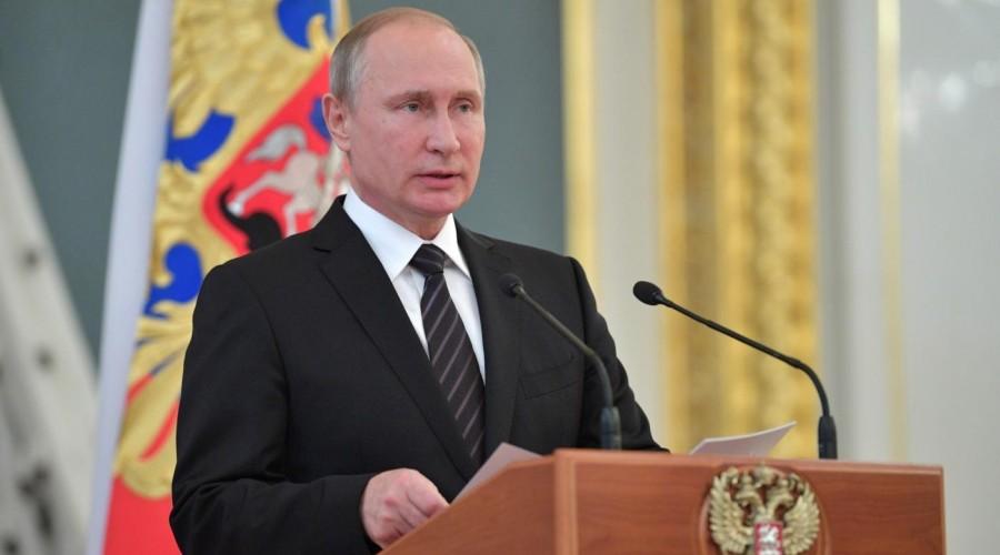 Владимир Путин направил приветствие участникам и гостям Третьей российской экологической недели