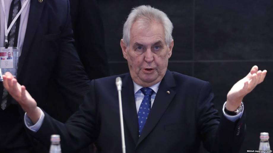 Президент Чехии: я призвал Путина повлиять на освобождение Козловского