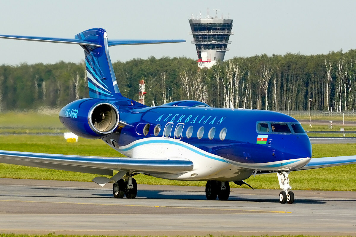Gulfstream Aerospace G650, G650ER. Azerbaijan - Government. 4K-AI88.