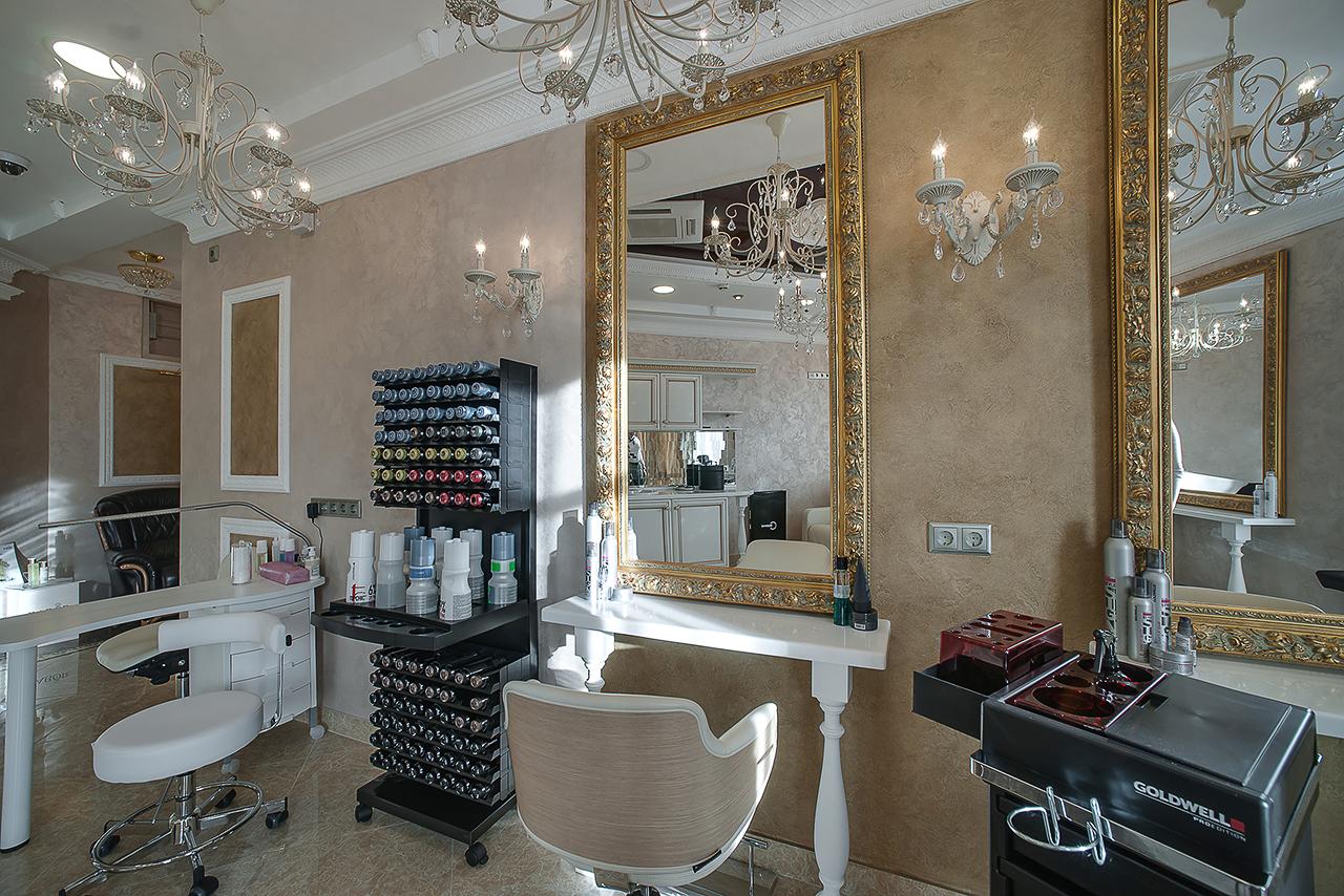 Интерьер салона красоты в Москве