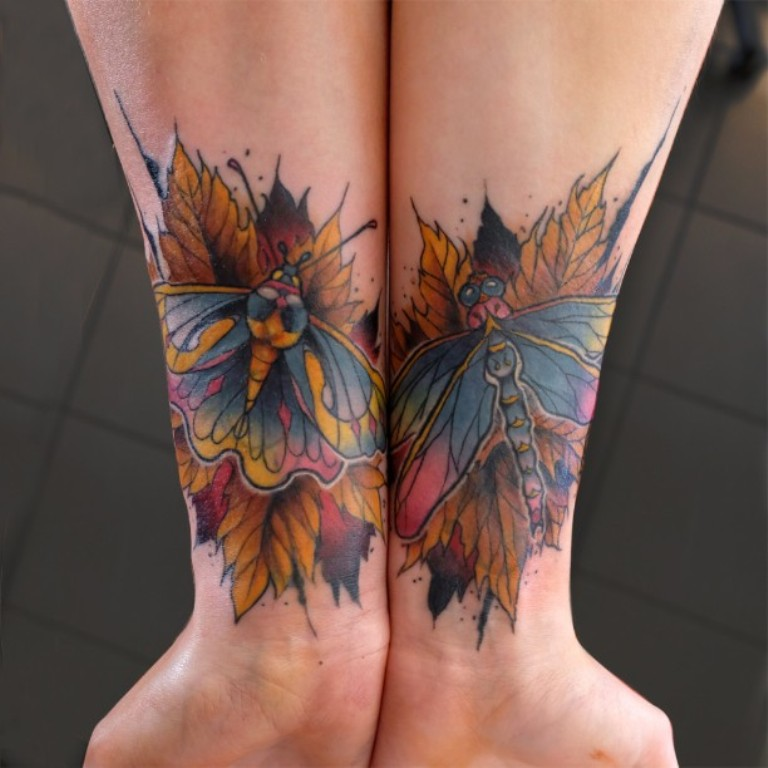 95 gorgeous butterfly tattoos the beauty and the - 600×600