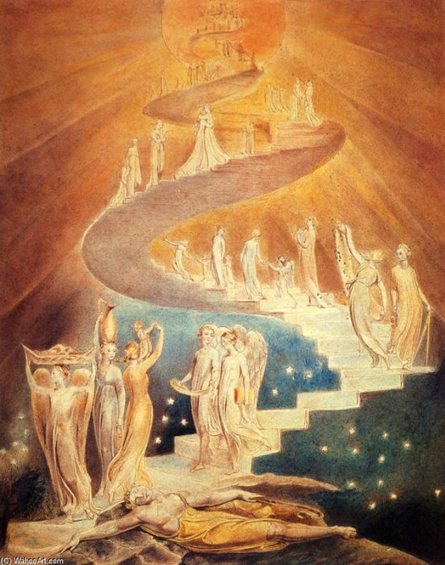 Уильям Блейк. Лестница Иакова