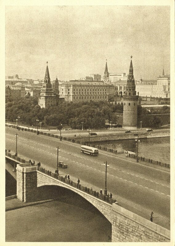 Москва в 1951 году