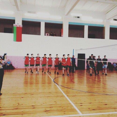 Сборная Червенского района по волейболу