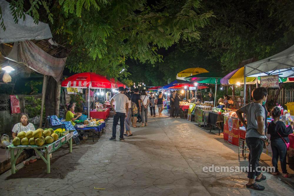 Лампанг ночной рынок