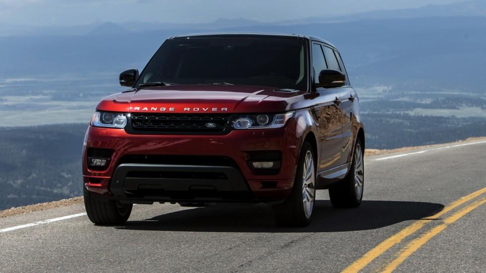 На фото: Range Rover Sport '2013–н.в.    Тут уж вы сами виноваты – аристократия не будет