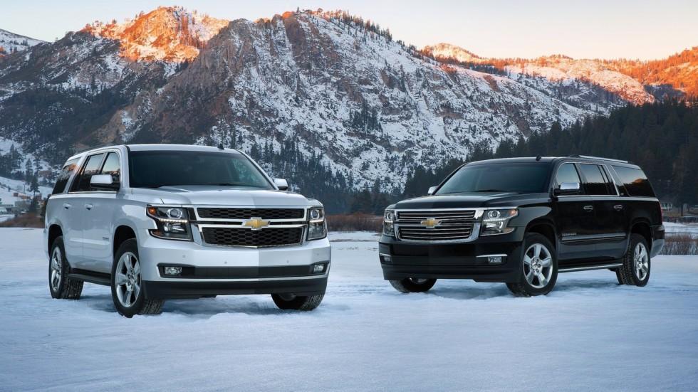 На фото: Chevrolet Tahoe '2014–н.в.    За такой подход приходится платить – причем в прям