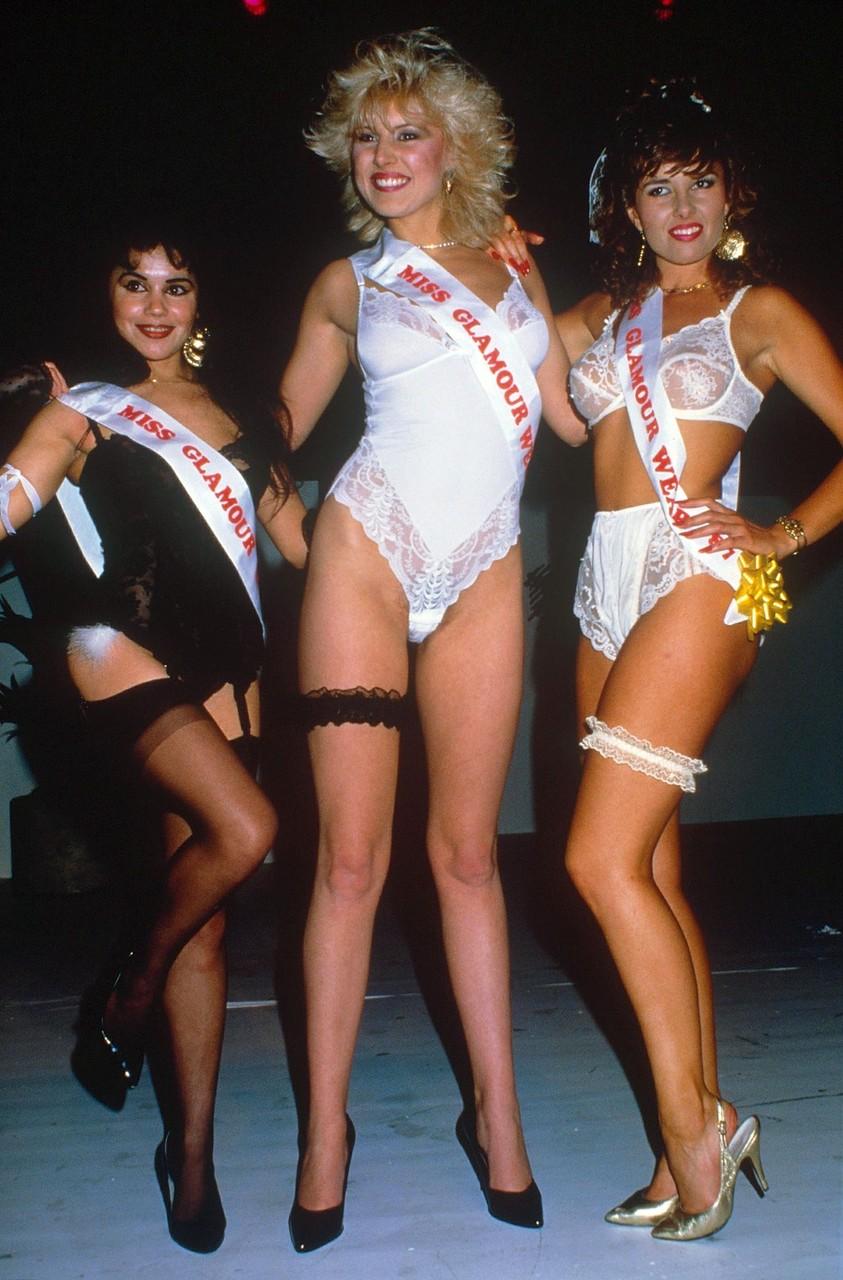 Miss Glamour 1987-го.