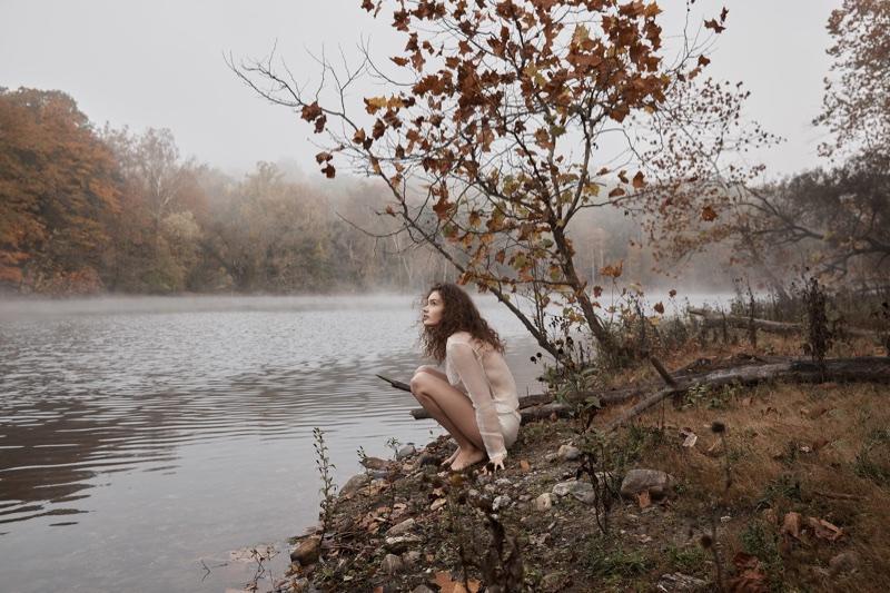 Саша Кичигина в Summerwinter Homme Magazine (16 фото)