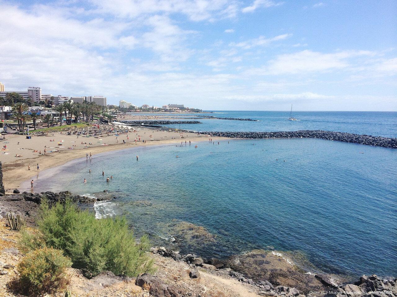Чёрные пляжи Тенерифе, или рассказ о том, откуда ветер дует